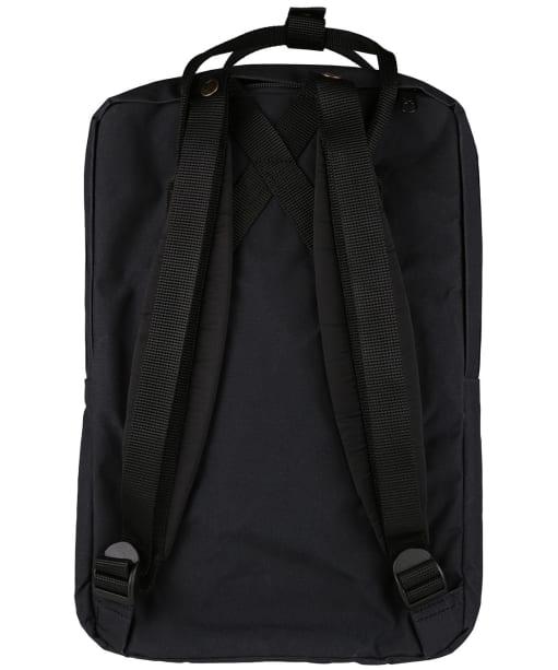 "Fjallraven Kanken Laptop 15"" Bag - Black"