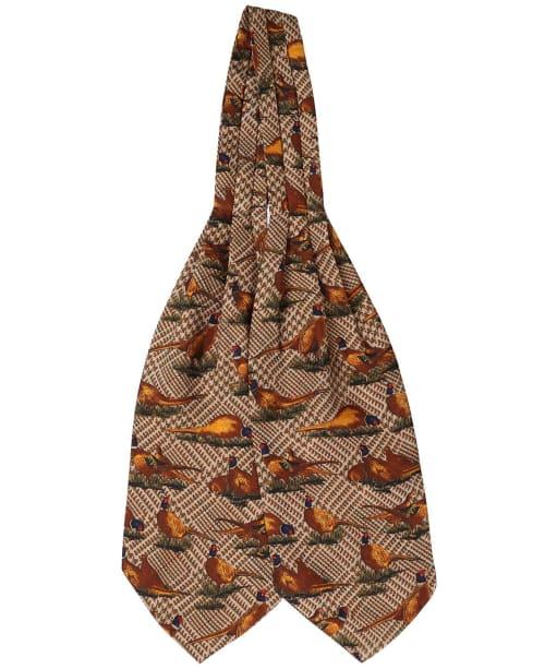 Men's Soprano Pheasant Cravat - Tweed