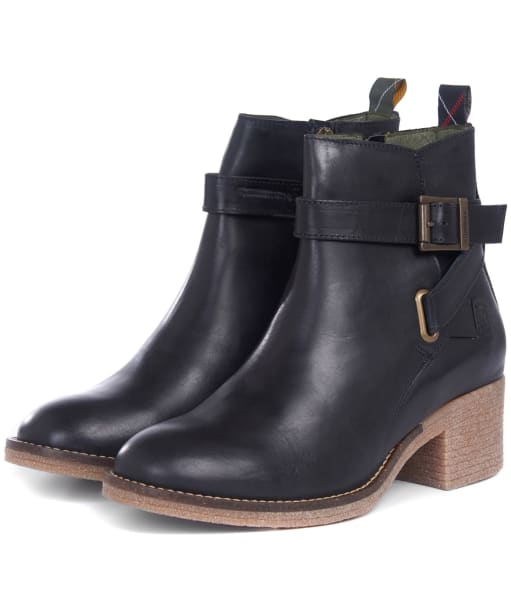 Women's Barbour Keavy Ankle Boots - Black