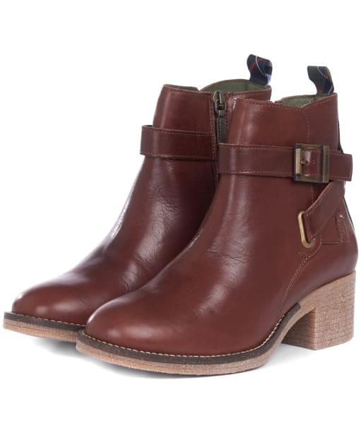 Women's Barbour Keavy Ankle Boots - Brown