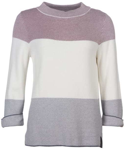 Women's Barbour Sutherland Knit Sweater - Cloud