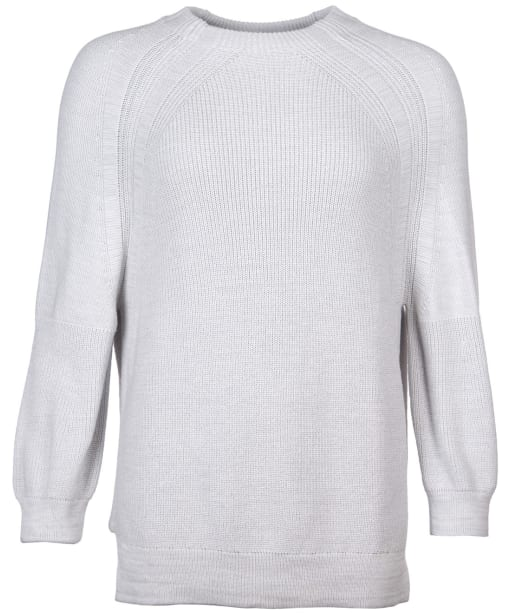 Women's Barbour Murray Knit Sweater - Ice White