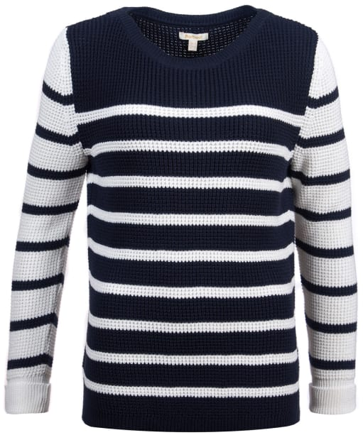 Women's Barbour Bay Knit Sweater - Navy