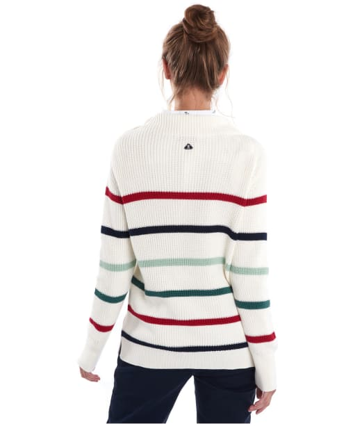 Women's Barbour Shoreward Knit Sweater - Cloud