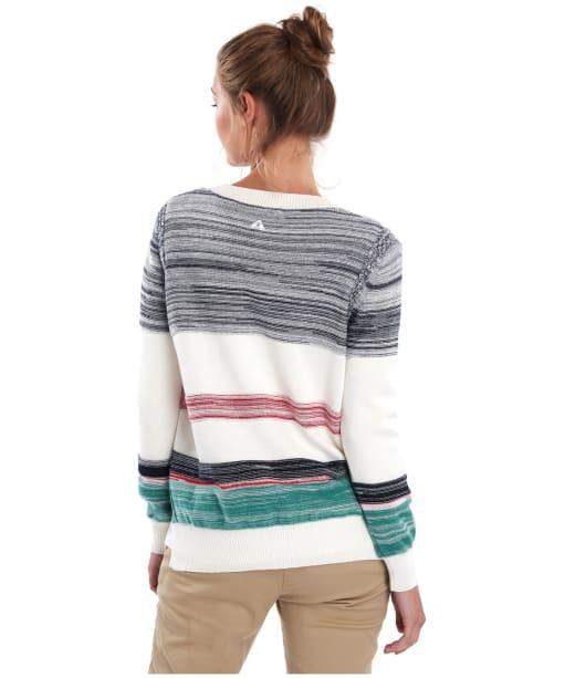 Women's Barbour Deepsea Knit Sweater - Cloud Multi