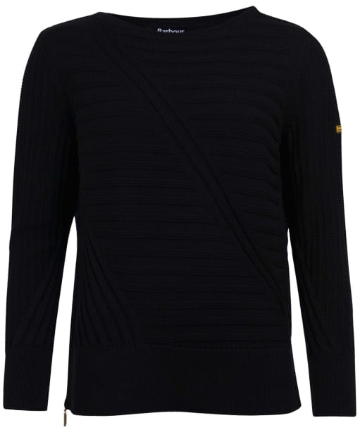 Women's Barbour International Relay Knit - Black
