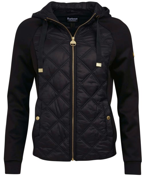 Women's Barbour International Match Point Sweat - Black