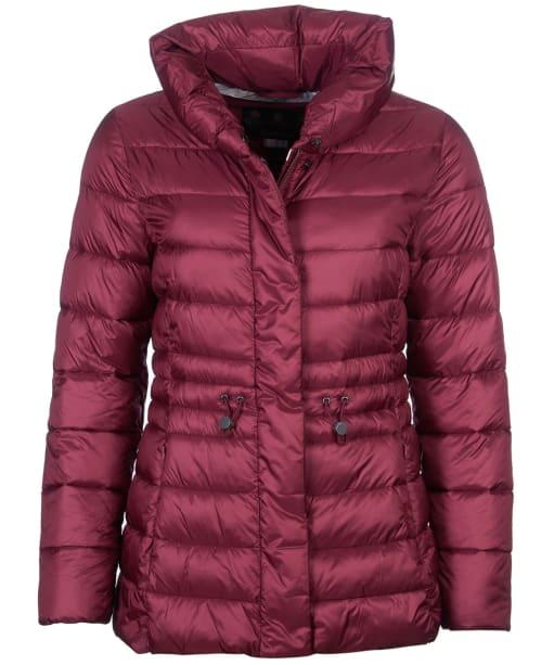 Women's Barbour Reid Quilted Jacket - Red