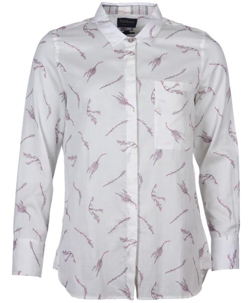 Women's Barbour Reid Shirt - Cloud Print