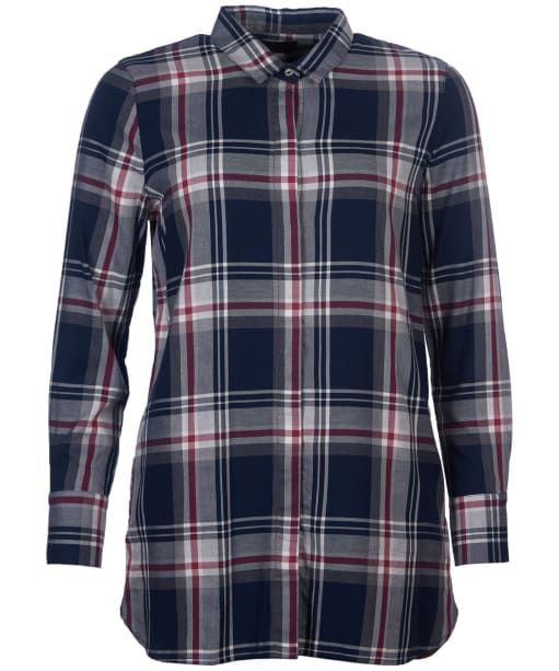 Women's Barbour Balcary Shirt - Navy / Rouge