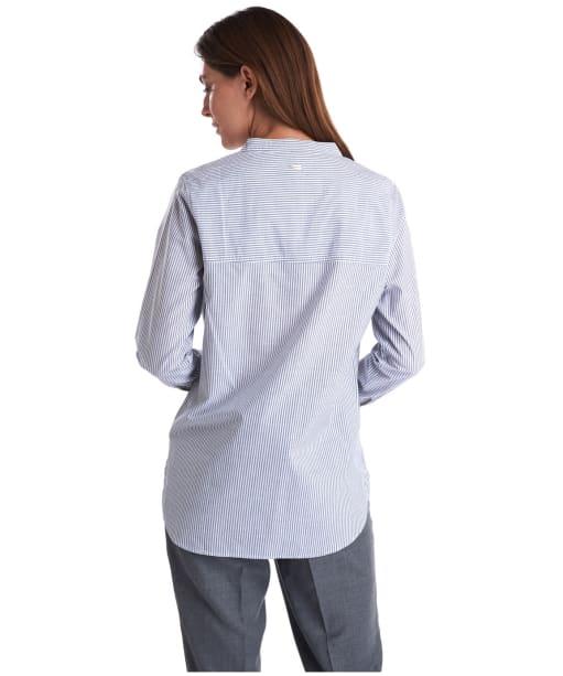 Women's Barbour Murray Shirt - Grey / White