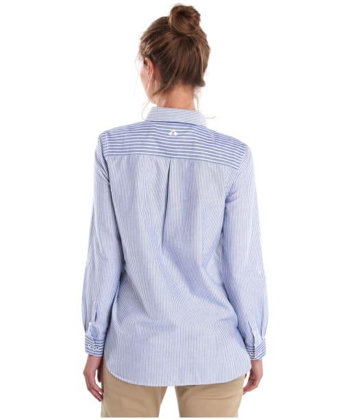 Women's Barbour Bay Shirt - Navy / White