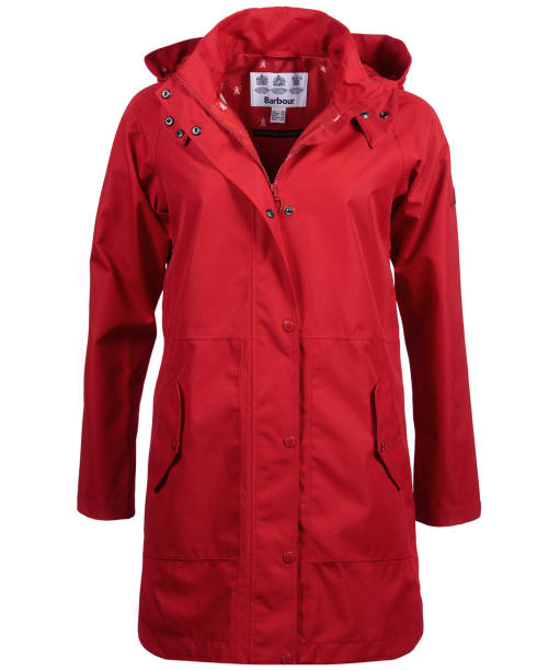 Women's Barbour Mainlander Waterproof Jacket - Brick Red