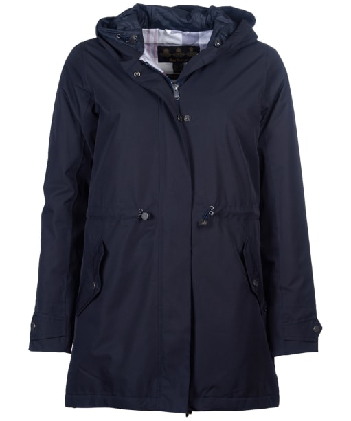Women's Barbour Southcliff Waterproof Jacket - Dark Navy