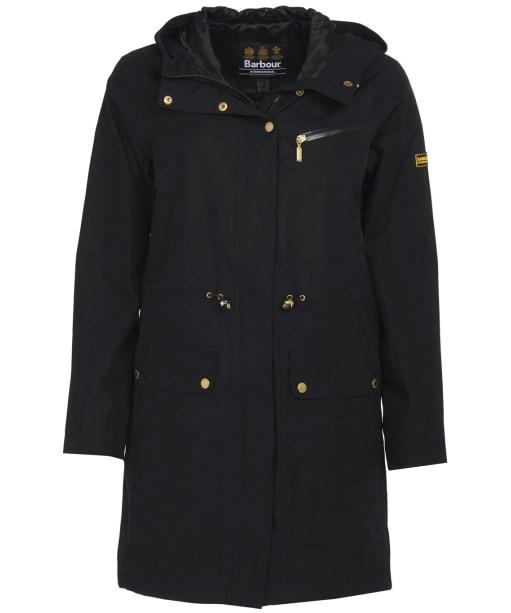 Women's Barbour International Zone Waterproof Jacket - Black