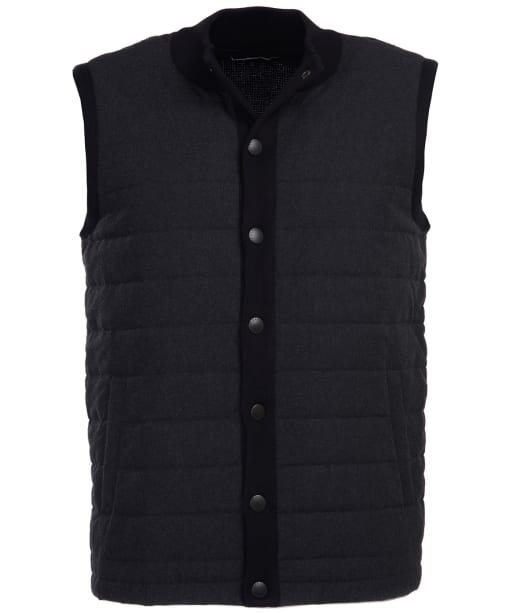 Men's Barbour Blair Knit Gilet - Charcoal Marl