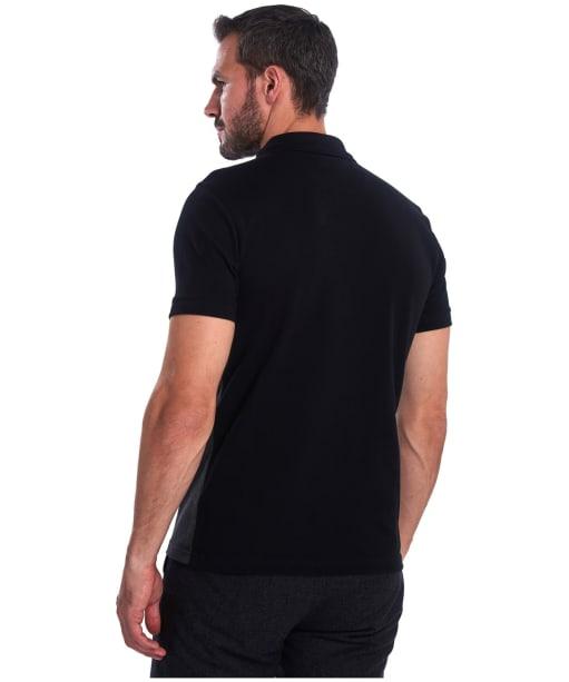 Men's Barbour Bonar Polo Shirt - Black