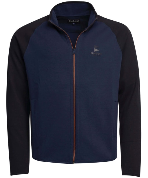 Men's Barbour Skiff Zip Thru Jacket - Navy