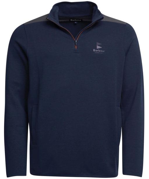 Men's Barbour Skiff Half Zip Sweater - Navy