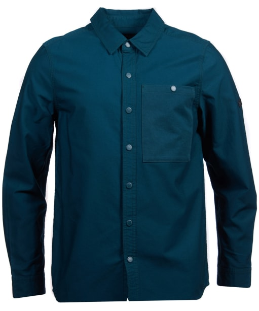 Men's Barbour International Dual Overshirt - BENZINE
