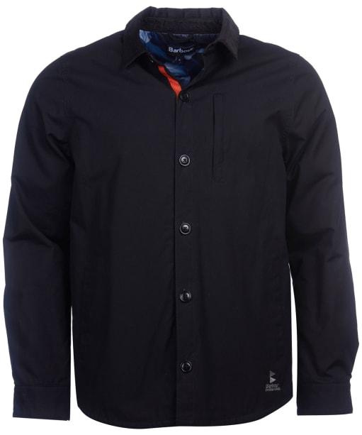 Men's Barbour Baltic Overshirt - Black