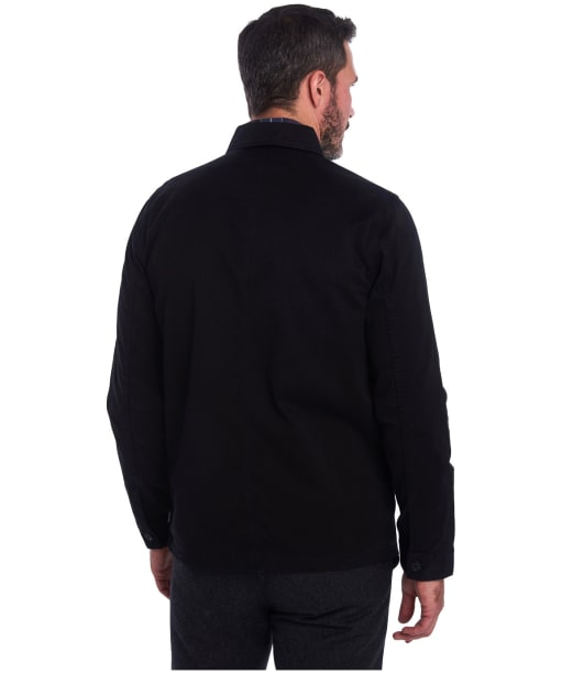 Men's Barbour Balintore Overshirt - Black