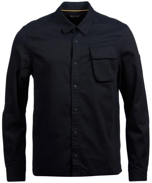 Men's Barbour International Contact Overshirt - Black