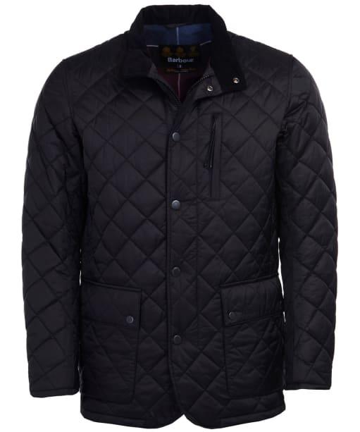 Men's Barbour Vende Quilted Jacket - Black