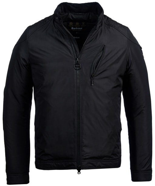 Men's Barbour International Station Quilted Jacket - Black