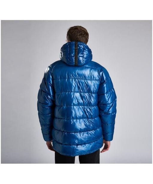 Men's Barbour International Keyes Quilted Jacket - Aqua