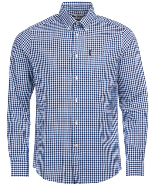 Men's Barbour Gingham 15 Tailored Shirt - Indigo