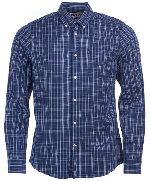 Men's Barbour Highland Check 23 Tailored Shirt - Indigo Check