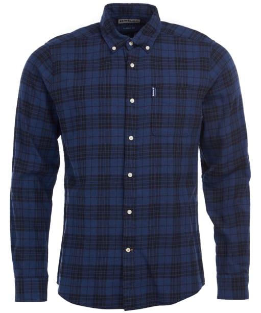 Men's Barbour Country Check 7 Tailored Shirt - Indigo