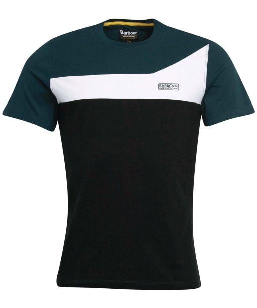 Men's Barbour International Steering Tee - BENZINE