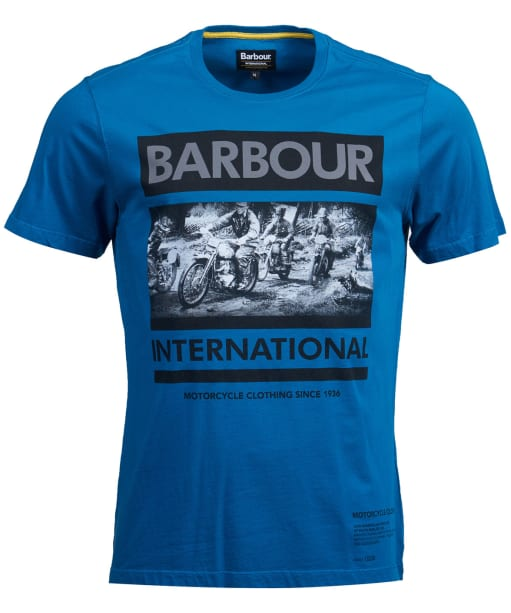 Men's Barbour International Mono Tee - Aqua