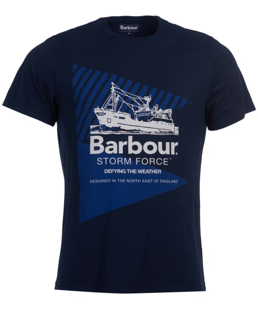 Men's Barbour Vessel Graphic Tee - Navy