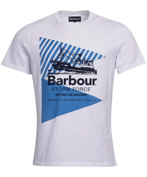 Men's Barbour Vessel Graphic Tee - White