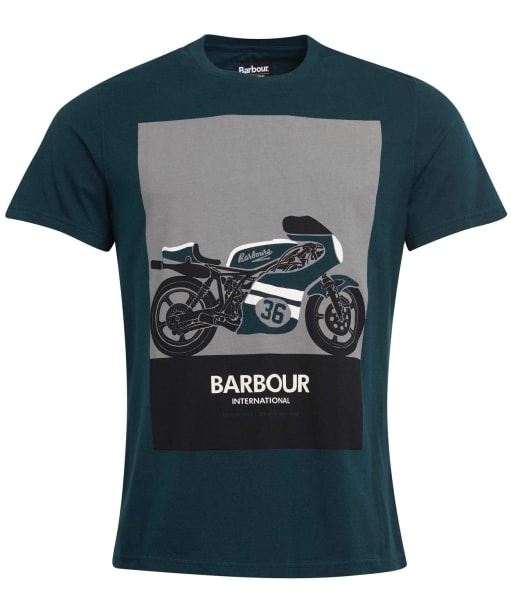 Men's Barbour International Posterise Tee - Benzine