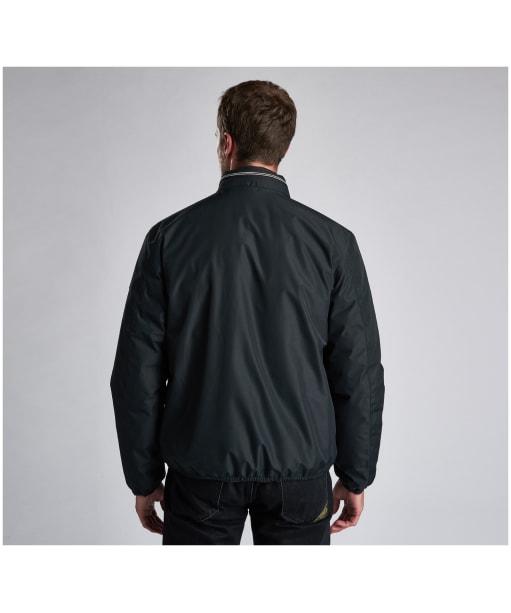 Men's Barbour International Kirby Waterproof Jacket - Black