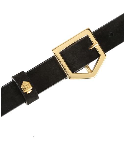 Women's Fairfax & Favor Sennowe Belt - Black Suede