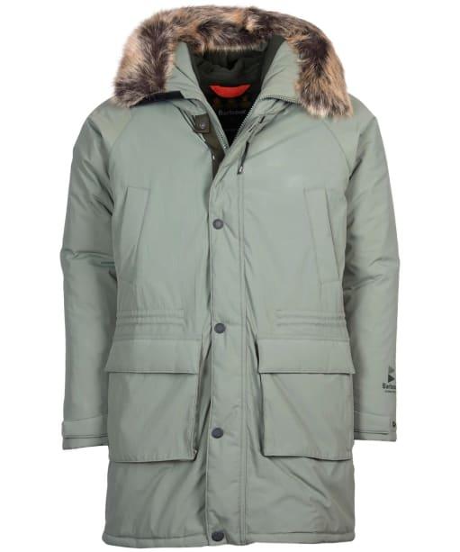 Men's Barbour Gustnado Waterproof Jacket - Agave Green