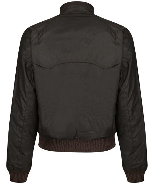 Men's Barbour Steve McQueen Merchant Wax Jacket - Olive