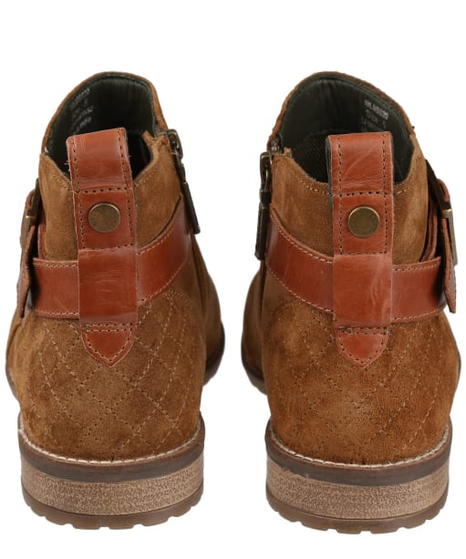 Women's Barbour Jane Suede Ankle Boots - Cognac Suede
