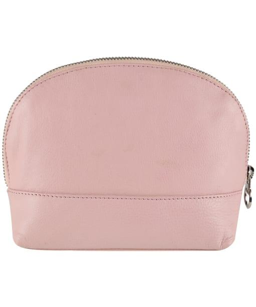 Women's Barbour Leather Makeup Bag - Pink