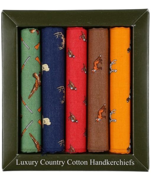 Men's Soprano Country Themed Handkerchiefs - Multi