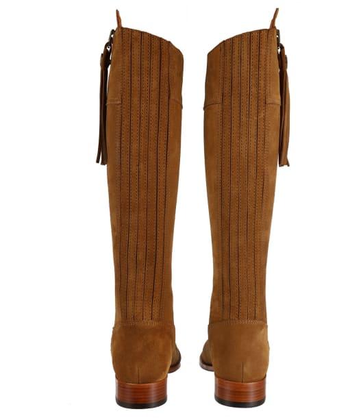 Women's Fairfax & Favor Flat Narrow Fit Regina Boots - Tan Suede