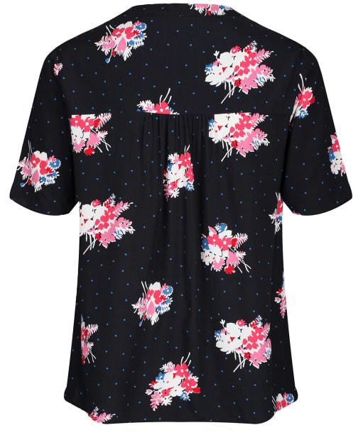 Women's Crew Clothing Phoebe Top - Black Floral