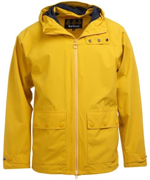 Men's Barbour Weld Waterproof Jacket - Golden