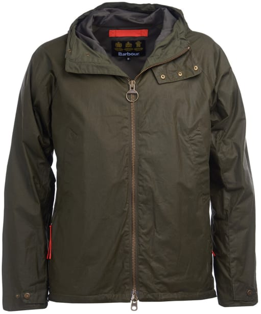 Men's Barbour Orta Waxed Jacket - Archive Olive