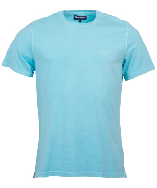Men's Barbour Garment Dyed Tee - Aquamarine